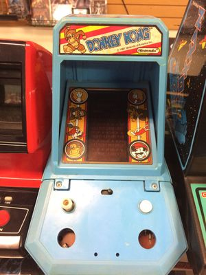 Donkey Kong Mini Tabletop Arcade Game Machine for Sale in Carmichael, CA
