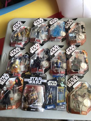 Star Wars Action Figures Toys for Sale in Garden Grove, CA
