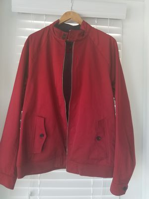 Banana Republic's Raglan Bomber Jacket in red parrot! XL Tall for Sale in Lexington, SC
