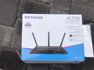 The NETGEAR AC1750 Smart Wi-Fi Router with external antennas delivers extremely fast Wi-Fi for Sale in Las Vegas, NV