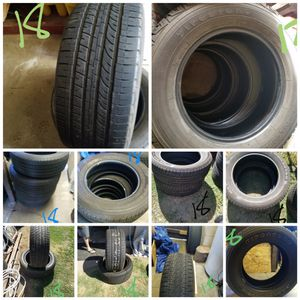 18 inch tires. Read listening for sizes for Sale in Fresno, CA