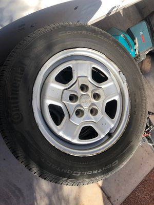 4 Jeep Wheels/Tires. for Sale in Las Vegas, NV