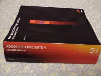 Adobe creative suite 4 Design Premium for Sale in Spartanburg,  SC