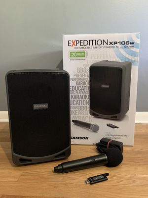Samson Expedition rechargeable wireless PA System Dj for Sale in Riverview, FL