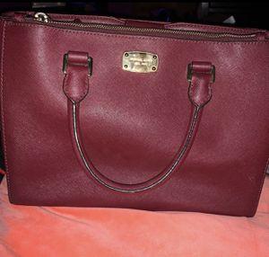 Michael Kors burgundy crossbody purse for Sale in Houston, TX