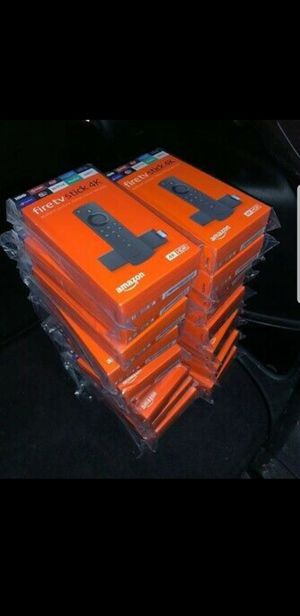 Unlock Amazon fire tv stick 4k for Sale in Lake Worth, FL