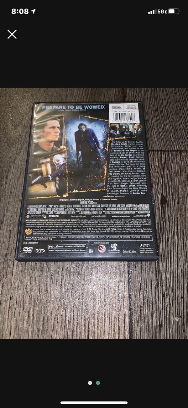 Batman The Dark Knight DVD