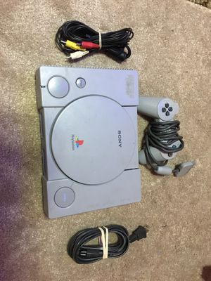 Ps1 system with controller and cords- Tested for Sale in Davenport, IA