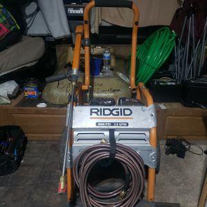 Ridgid 3000psi Portable Pressure washer for Sale in Auburn, WA