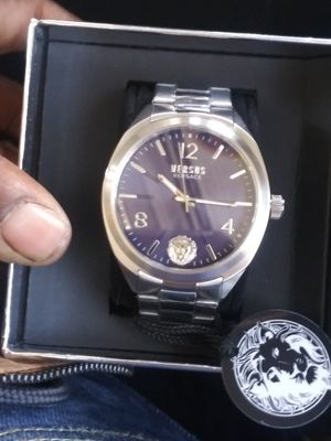 Brand-new men's Versace watch in the Box never for Sale in Seattle, WA