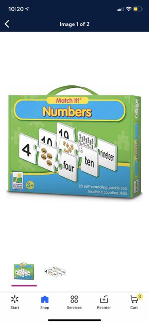 Number puzzle box ( brand new ) for Sale in Charlotte, NC