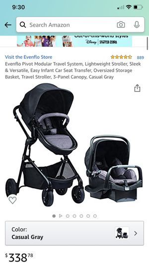 Evenflo stroller and car seat 360 for Sale in Atlanta, GA