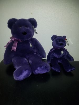 TY princess Beanie Baby and Buddy for Sale in TEMPLE TERR, FL
