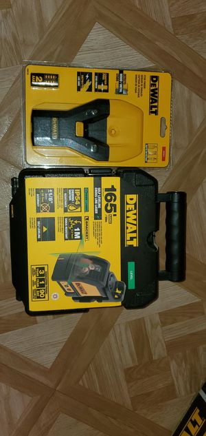 Green Cross Line Laser Level with Stud Finder Firm price for Sale in Dumfries, VA