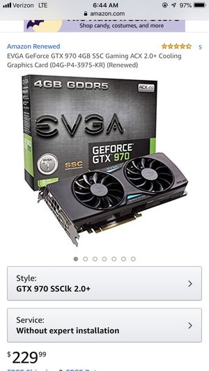Graphics card for Sale in Beaverton, OR