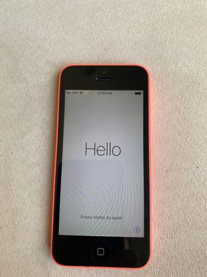 Apple iPhone 5c for Sale in Cypress, CA