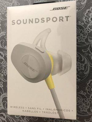Bose Soundsport Wireless (New - Unopened Packaging) for Sale in Sterling, VA