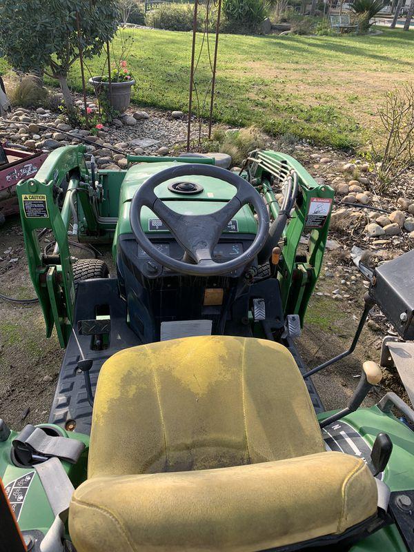 John deer tractor