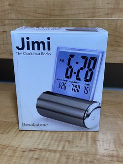 Brookstone JIMI the clock that rocks for Sale in Hollywood,  FL