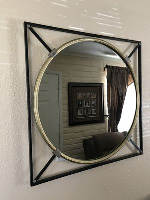 Decorative Mirror With Frame NEW for Sale in El Paso, TX