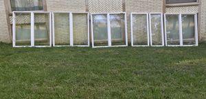 Double-Pane White Vinyl Casement Windows Assortment for Sale in Alexandria, VA