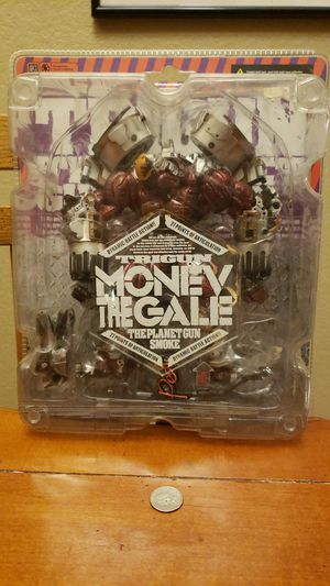 Monev the gale TRIGUN collectible huge action figure ***near mint*** for Sale in Coppell, TX