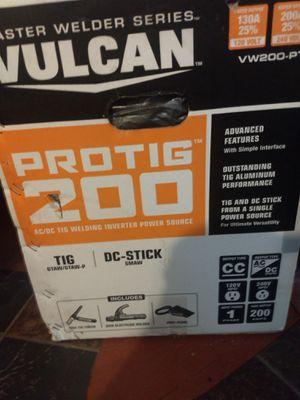 Vulcan Tig welder for Sale in Darrington, WA
