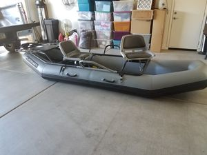 Inflatable boat. Flycraft stealth motor pkg. for Sale in Goodyear, AZ