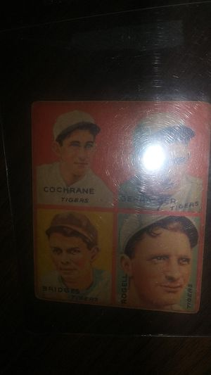 1935 GOUDEY 4-IN-1 for Sale in Ashley, OH