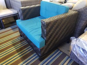 New outdoor patio furniture club chair sunbrella fabric tax included for Sale in Hayward, CA