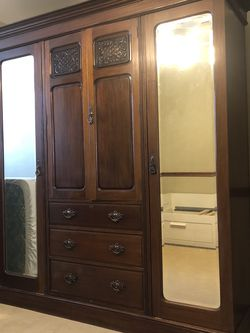Antique Armoire For Sale for Sale in Tomball,  TX