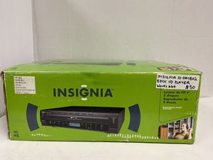 INSIGNIA IS-DA1802 5 Disc CD Player with MP3 and WMA Playback for Sale in Dallas, TX