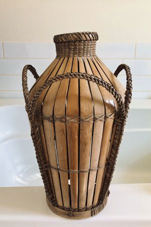 Large Bamboo Vase for Sale in Seattle, WA