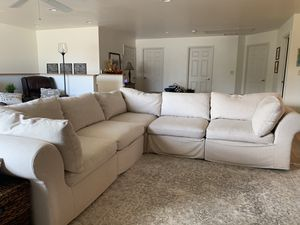 Pottery Barn Sectional Couch (7 pieces) for Sale in Melbourne, FL