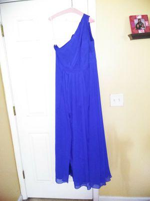 Royal blue bridesmaid dress for Sale in Jonesboro, GA