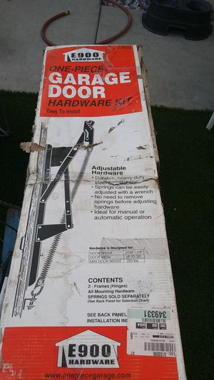 I have two one piece garage door springs for Sale in Tracy, CA