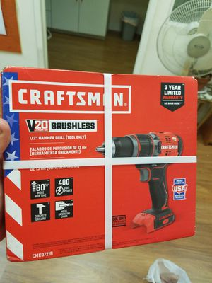 """NEW Craftsman 1/2"""" Hammer Drill (Tool Only) for Sale in HALNDLE BCH, FL"""