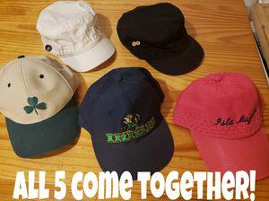 Lot of 5 Hats (Caps) for Sale in Philadelphia, PA