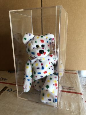 3 BEANIE BABIES IN CASE for Sale in Austin, TX