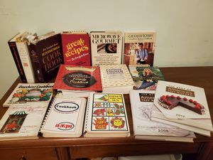 Variety of cookbooks for sale. $5 EACH. for Sale in River Grove, IL