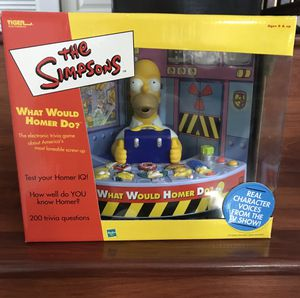 The Simpsons What Would Homer Do? Electronic Trivia Game for Sale in Miami, FL