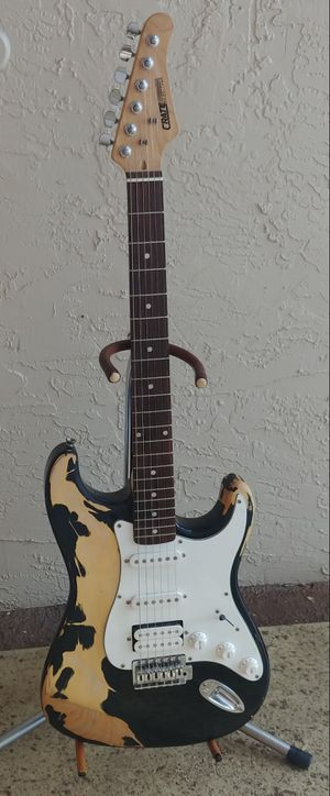 Crate Electra Electric Guitar New Strings Setup and Ready to Play !! for Sale in Deerfield Beach, FL