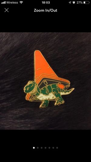 Rex Toy Story With Cone Disney Pin for Sale in Riverside, CA