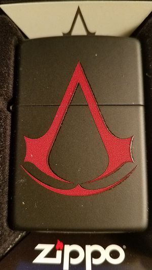 Zippo assassin's creed black matte 29601 for Sale in Los Angeles, CA