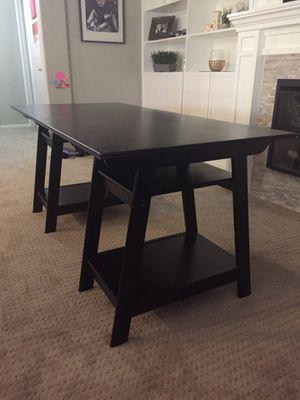 Black contemporary desk for Sale in Avondale, AZ