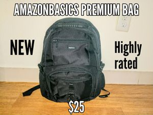"Amazonbasics Premium Backpack- supports 15"" laptop for Sale in Revere, MA"