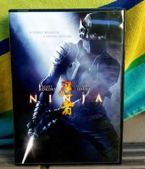 NINJA (DVD) Scott Adkins. Tsuyoshi Ihara for Sale in San Diego, CA