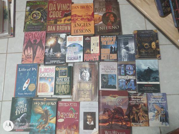 Fantasy & Sci-fi Book Collection (25 Total)