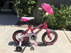 "Girls Disney Minnie Mouse Huffy Bike Bicycle Pink 12"" for Sale in GILBERT, AZ"