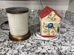 2 scentsy warmers for wax melts for Sale in Pacific, WA